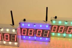 Digitale oefenklok kleur lampen